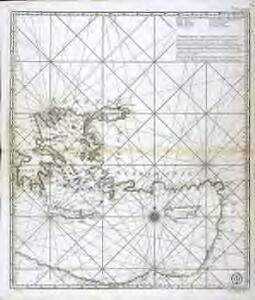 Carte reduite de la Mer Mediterranée, 3