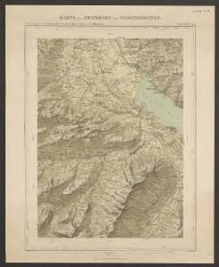 Karte des Stockhorn und Niesengebietes