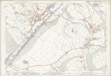 Yorkshire CCXCVIII.3 (includes: Sheffield) - 25 Inch Map