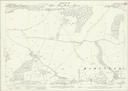 Berkshire XLII.2 (includes: Hampstead Marshall; Kintbury; Speen; Welford) - 25 Inch Map