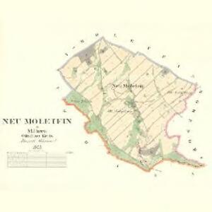 Neu Moletein - m2079-1-001 - Kaiserpflichtexemplar der Landkarten des stabilen Katasters