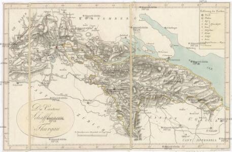 Die Cantone Schaffhausen und Thurgau