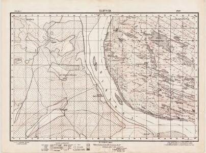 Lambert-Cholesky sheet 2537 (Glotnica)