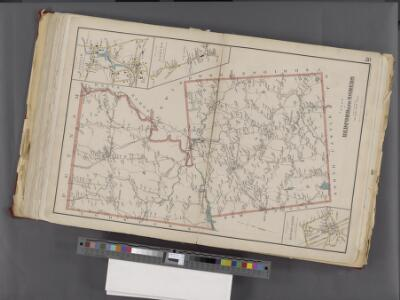 Westchester, Double Page Plate No. 30 [Map of Town of Bedford and Somers] / prepared under the direction of Joseph R. Bien, from general surveys and official records.
