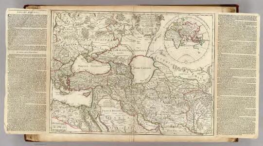 Theatrum historicum ad annum Christi quadringentesimu. Pars orientalis.