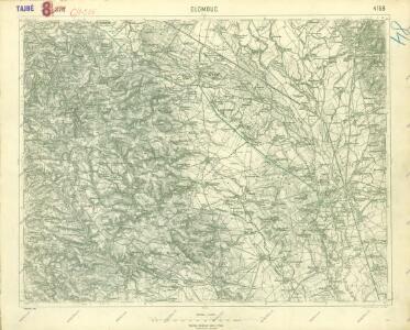 III. vojenské mapování 4158