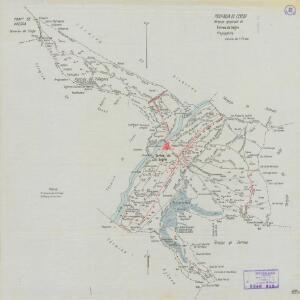 Mapa planimètric de Torres de Segre