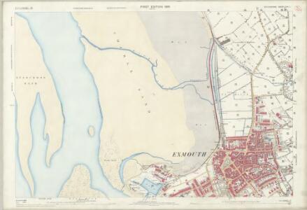Devon CIII.1 (includes: Kenton; Littleham; Withycombe Raleigh) - 25 Inch Map