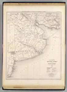 Carte Province De Buenos Ayres Regions Voisines