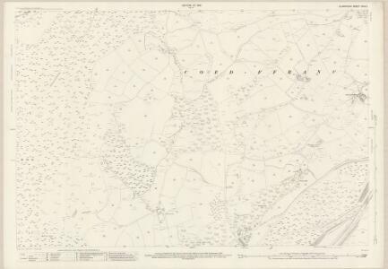 Glamorgan XXIV.3 (includes: Coed Ffranc; Swansea) - 25 Inch Map