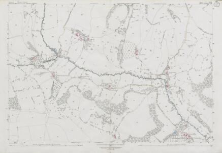 Somerset VIII.6 (includes: Batheaston; Cold Ashton; Marshfield; St Catherine) - 25 Inch Map