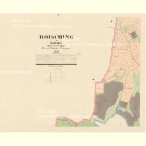 Roisching - c6520-1-002 - Kaiserpflichtexemplar der Landkarten des stabilen Katasters