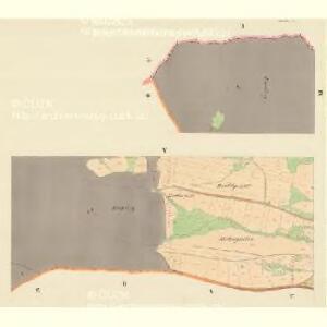 Lenzhof (Mlenicedwur) - m1835-1-003 - Kaiserpflichtexemplar der Landkarten des stabilen Katasters