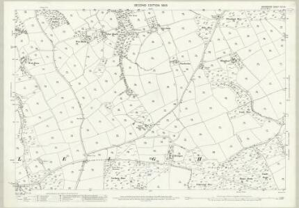 Devon XLII.14 (includes: Wembworthy; Winkleigh) - 25 Inch Map