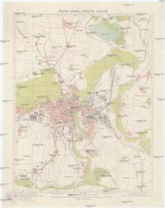 Plán král[ovského] města Plzně