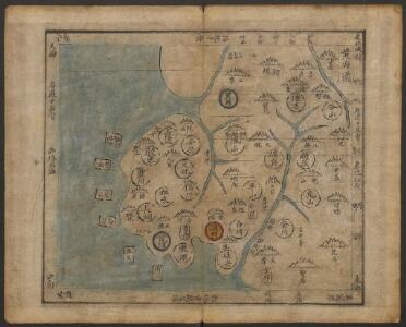 韓國輿地圖:黃海道