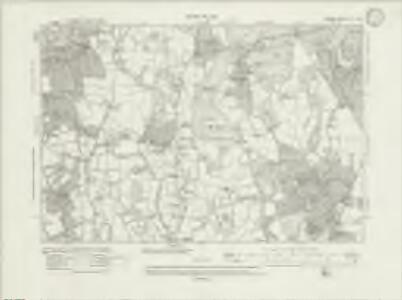 Surrey XL.NW - OS Six-Inch Map