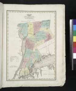 Map of the county of Westchester / by David H. Burr ; engd. by Rawdon, Clark & Co., Albany, & Rawdon, Wright & Co., New York.