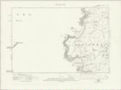Anglesey V.SE - OS Six-Inch Map