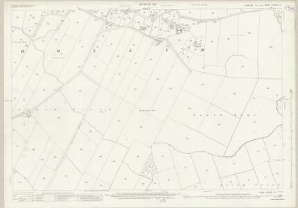 Yorkshire CCXLIII.13 (includes: Hollym; Holmpton; Patrington) - 25 Inch Map