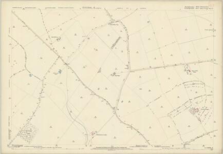 Huntingdonshire VIII.12 & IX.9 (includes: Denton and Caldecote; Glatton; Great Gidding; Hemington; Luddington; Lutton; Polebrook) - 25 Inch Map