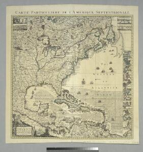 A map of the British Empire in America: with the French, Spanish and Hollandish settlements adjacent thereto / by Henry Popple; I. Condet s.
