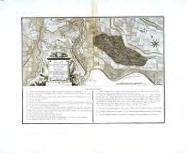 Plan du combat de St. Jacques près de la ville de Bâle