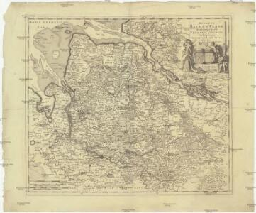 Ducatus Bremae & Ferdae maximaeque partis fluminis Visurgis