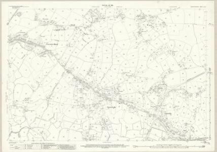 Carmarthenshire LVIII.8 (includes: Llanelli; Llanelly Rural; Llangennech) - 25 Inch Map