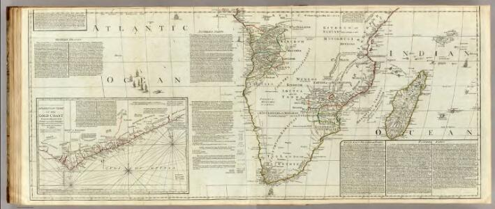 (Africa, with all its states, kingdoms, republics, regions, islands, &ca.  Southern section)