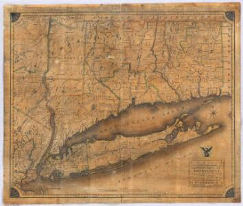Map of the Southern part of the State of New York.
