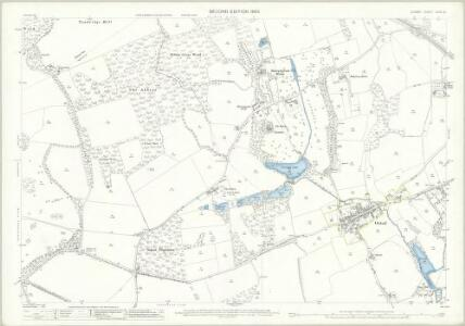 Surrey XXVII.12 (includes: Oxted; Tandridge) - 25 Inch Map