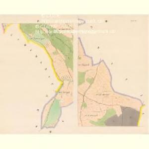 Rosedt (Rosedlo) - c6586-1-002 - Kaiserpflichtexemplar der Landkarten des stabilen Katasters