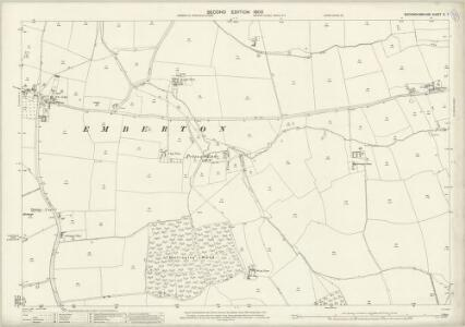 Buckinghamshire V.7 (includes: Clifton Reynes; Emberton) - 25 Inch Map