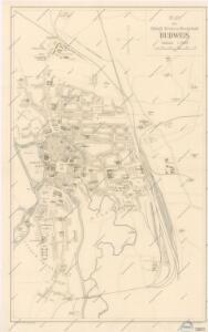 Plan der Königl. Kreis. U. Bergstadt Budweis