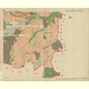 Unt. Radisch - m0520-1-005 - Kaiserpflichtexemplar der Landkarten des stabilen Katasters