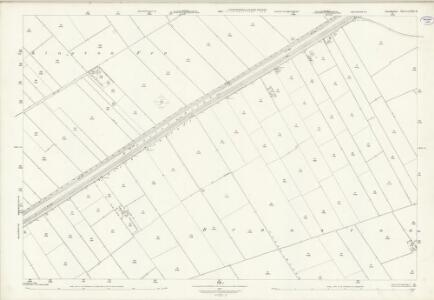 Lincolnshire LXXI.11 (includes: Branston and Mere; Heighington) - 25 Inch Map