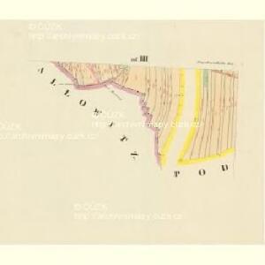 Praschiwalhotta - c0953-1-005 - Kaiserpflichtexemplar der Landkarten des stabilen Katasters