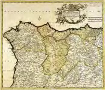 Regnorum Castellæ veteris, Legionis, et Gallæciæ principatuumq[ue] Biscaiæ, et Asturiarum accuratissima descriptio