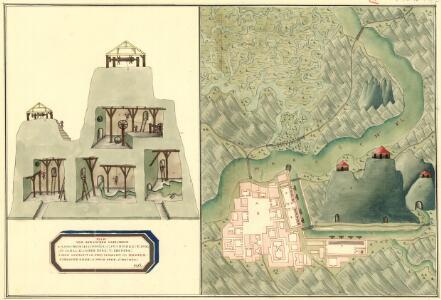 Plan von Bergwerg Laposneck