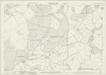 Surrey XXXIV.13 (includes: Leigh; Newdigate) - 25 Inch Map