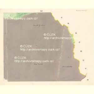 Dwarozna Lhotta - m3176-1-010 - Kaiserpflichtexemplar der Landkarten des stabilen Katasters