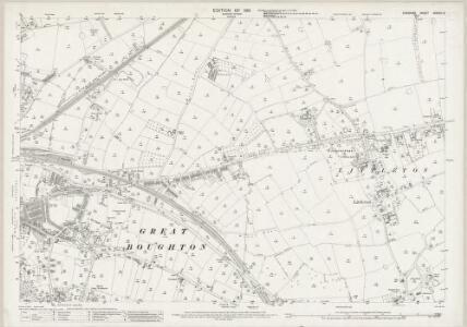 Cheshire XXXVIII.12 (includes: Chester; Christleton; Great Boughton; Guilden Sutton; Hoole; Littleton) - 25 Inch Map