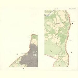 Mitter Beczwa (Prostředny Beczwa) - m2424-1-009 - Kaiserpflichtexemplar der Landkarten des stabilen Katasters