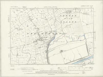Lancashire LVII.NE - OS Six-Inch Map