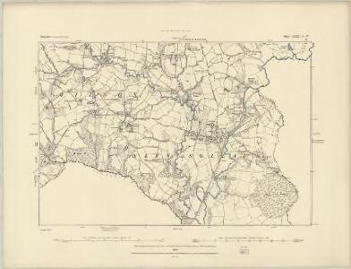 Shropshire LXXVI.SE - OS Six-Inch Map