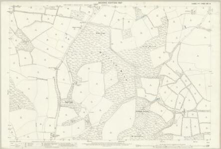 Sussex XXII.8 (includes: Kirdford; Petworth) - 25 Inch Map