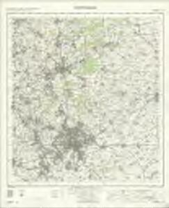 Nottingham - OS One-Inch Map