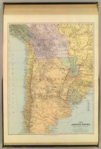 Argentine Republic, Chile, Paraguay, Uruguay.