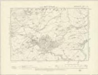 Montgomeryshire X.SW - OS Six-Inch Map